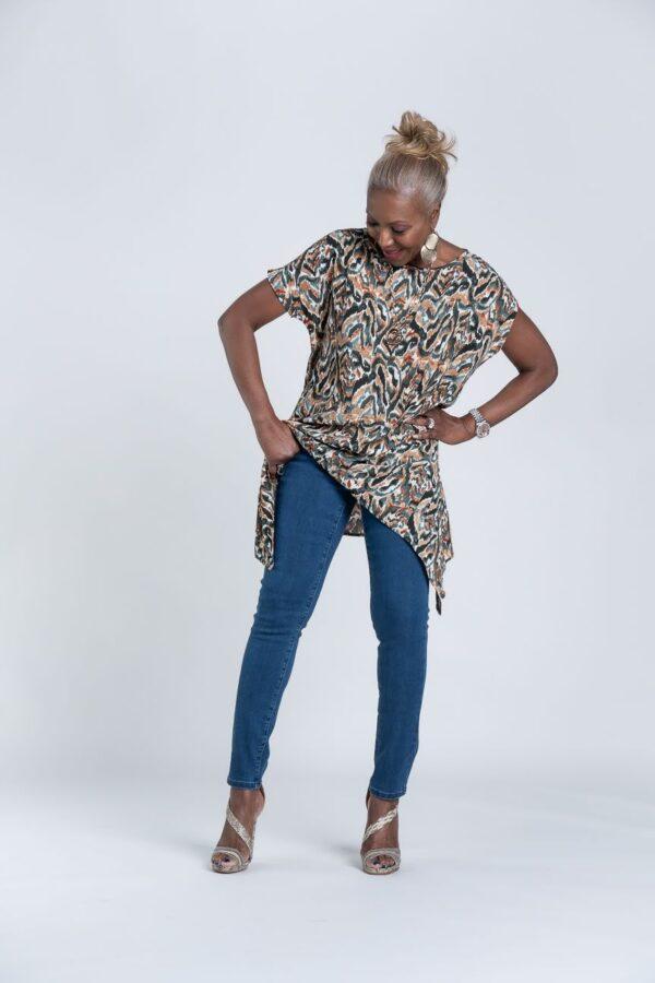 My Wonder Denim Stain Resistant Crop Jeans