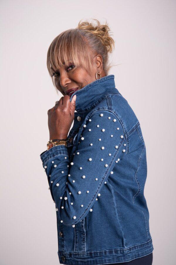 My Wonder Denim, Denim Jacket by Attitude by Renee