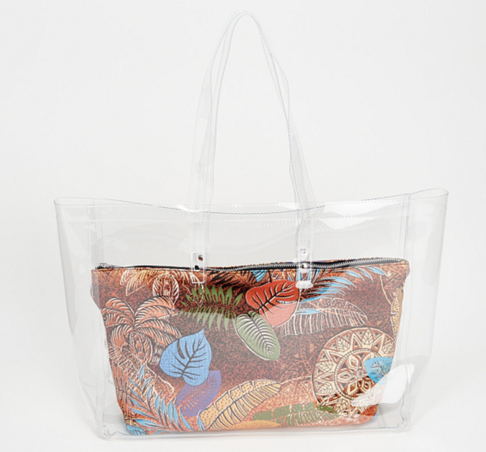 Attitudes by Renee Beach Bag with Removable Insert
