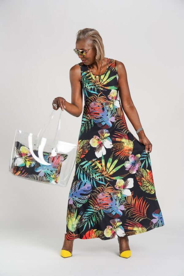 Matching Attitudes By Renee Maxi Dress
