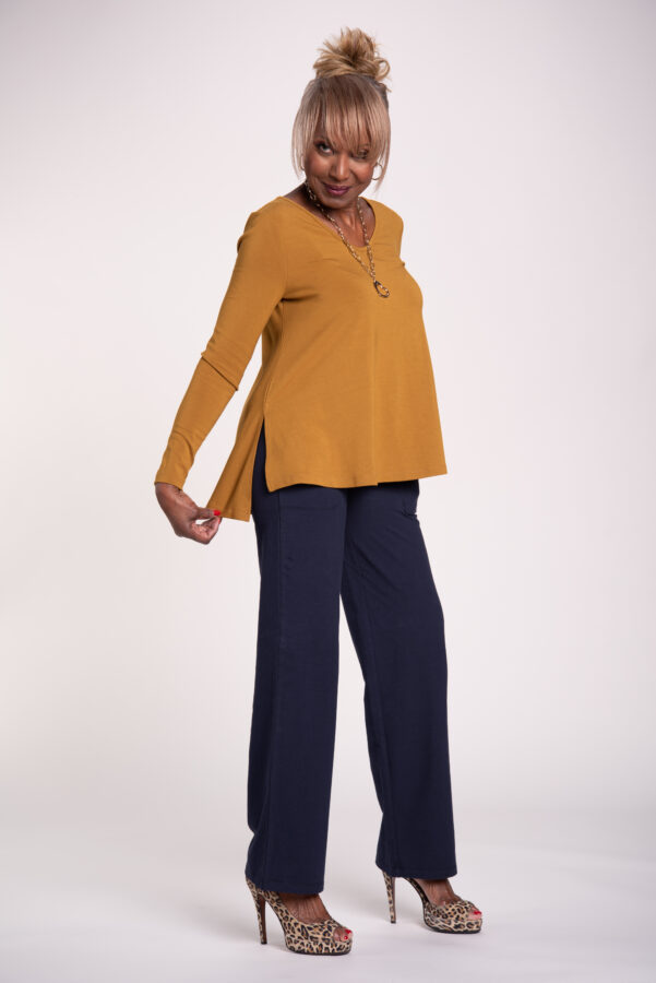 Attitudes by Renee Finespun Jersey Tunic