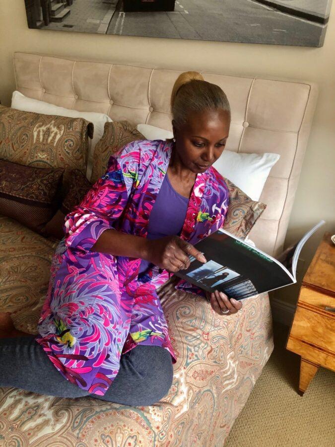 Renee reading